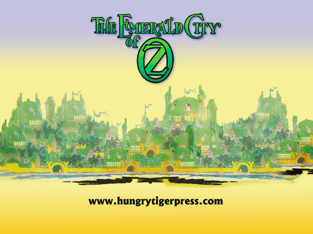 Emerald City Wallpaper Tiger treats   the emerald 1024x768