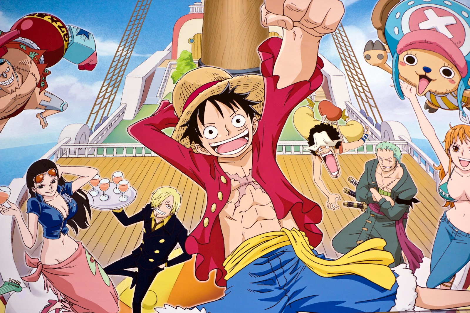 one piece wallpaper backgrounds   Cool Anime Wallpaper Backgrounds 1600x1066