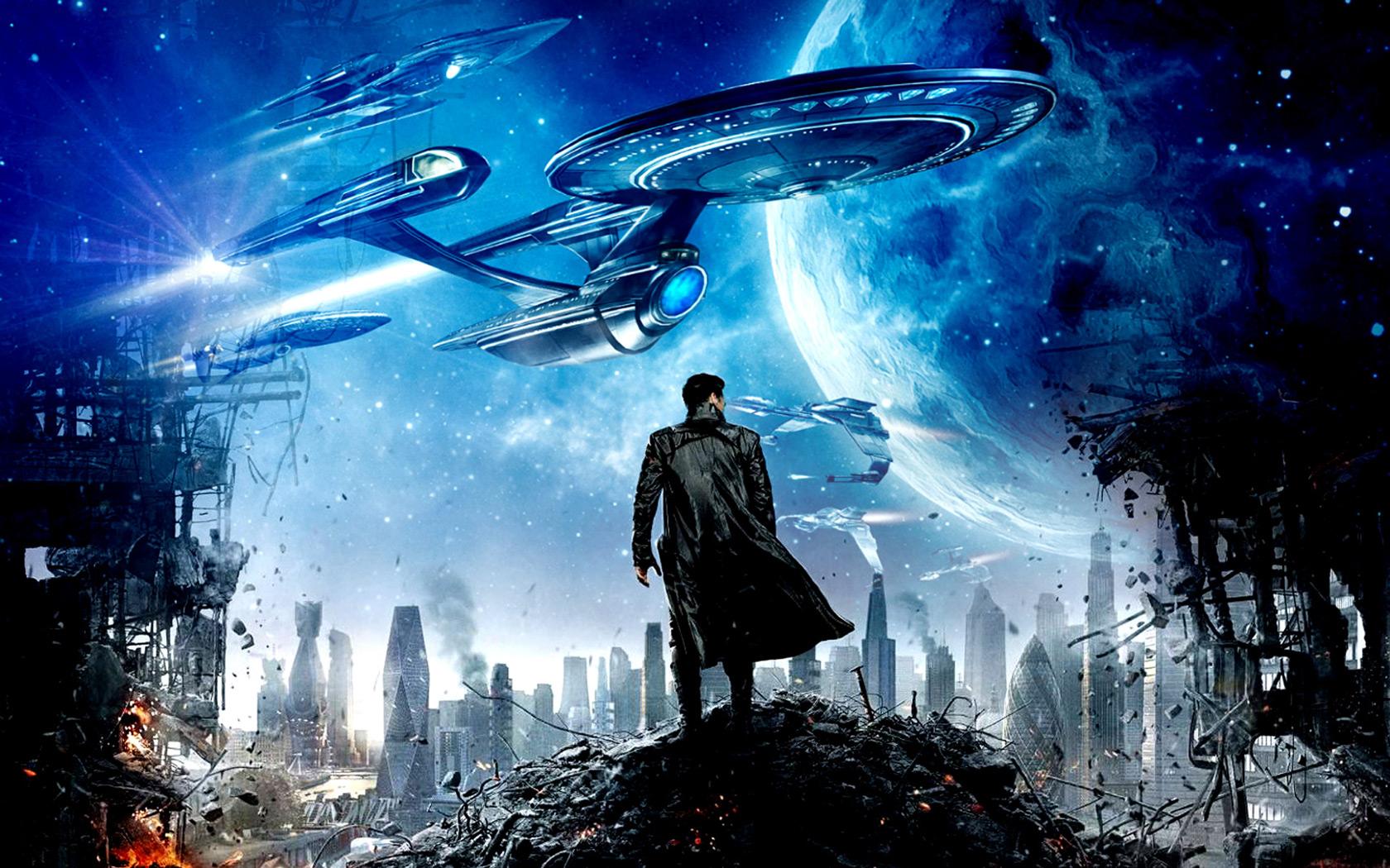 Star Trek Into Darkness Movie computer desktop wallpapers 1680x1050