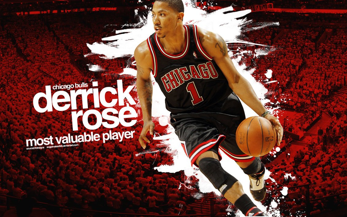 Derrick Rose MVP Wallpaper by IshaanMishra 1131x707