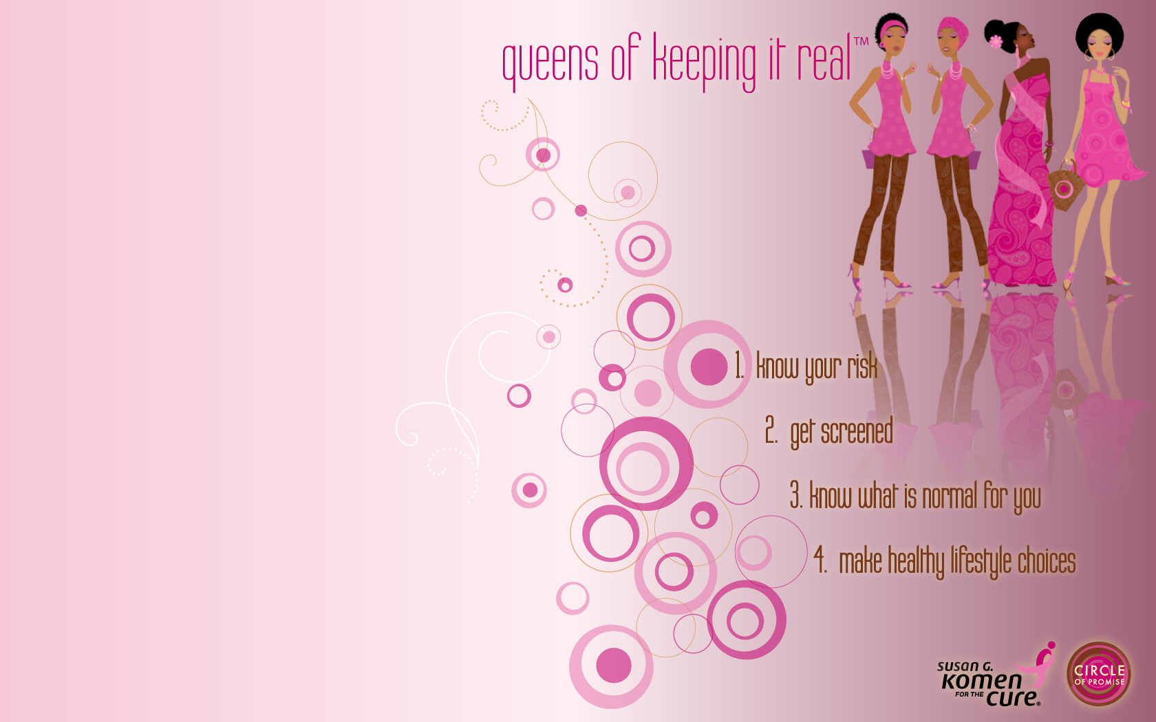 Breast Cancer Awareness Desktop Wallpaper 1680x1050