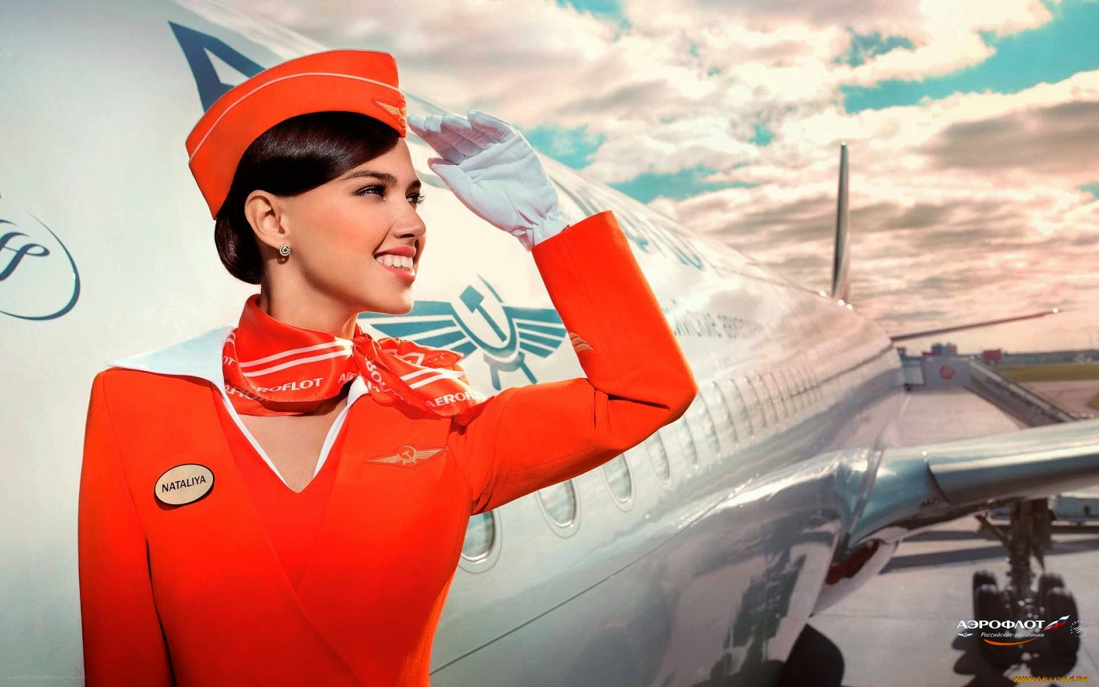 Aeroflot Stewardess Official Wallpaper World stewardess Crews 1600x1000