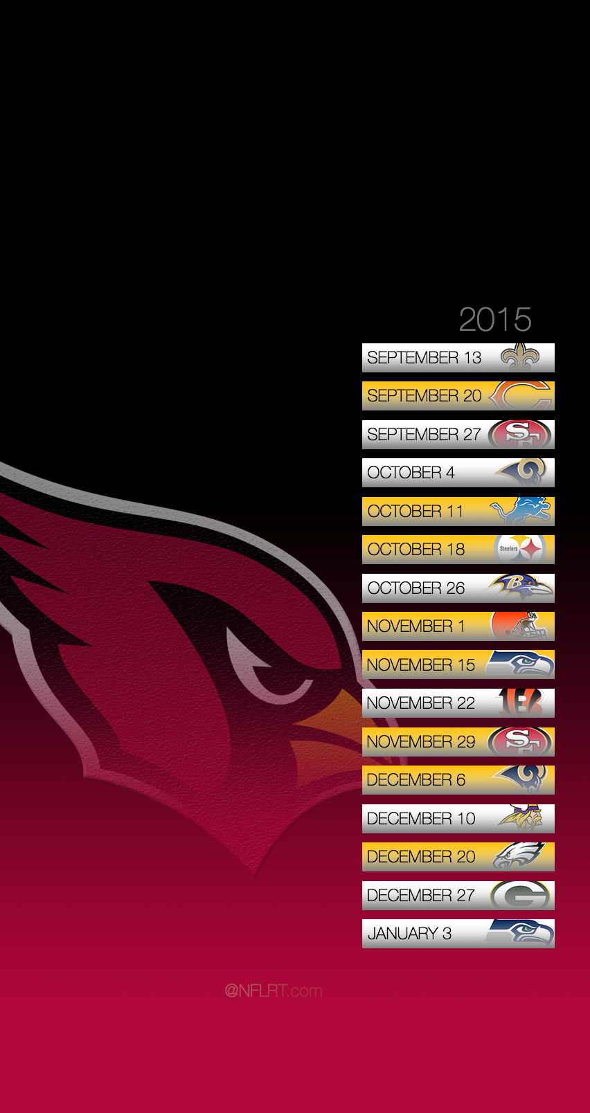 2015 NFL Schedule Wallpapers   Page 8 of 8   NFLRT 852x1608