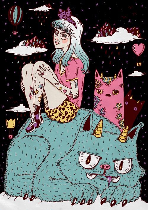 hipster cat wallpaper 500x707
