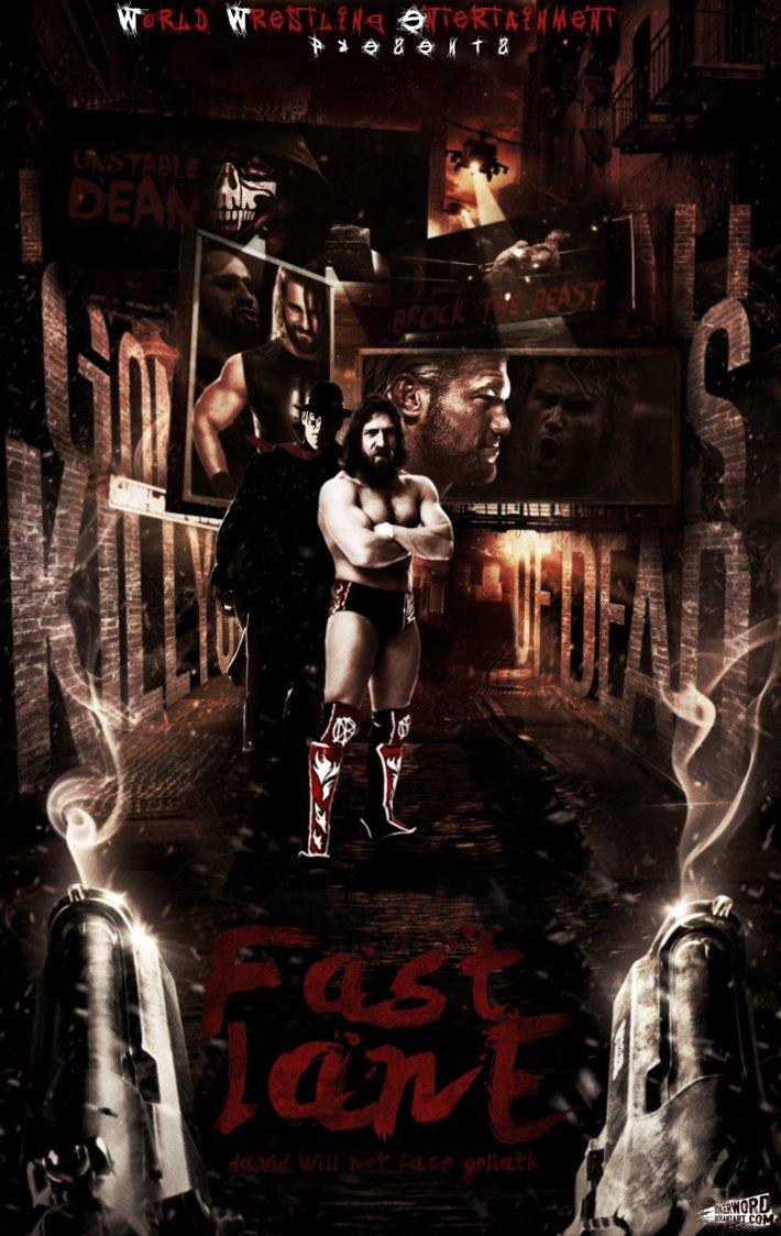 WWE Fast Lane Poster by JoKeRWord 710x1124
