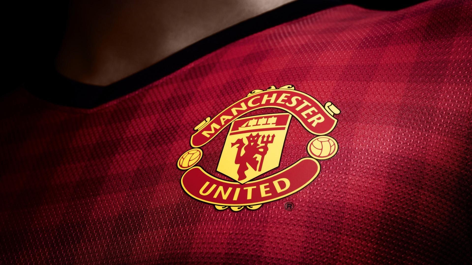 Manchester United Football Logo HD Wallpaper HD Wallpaper 1920x1080