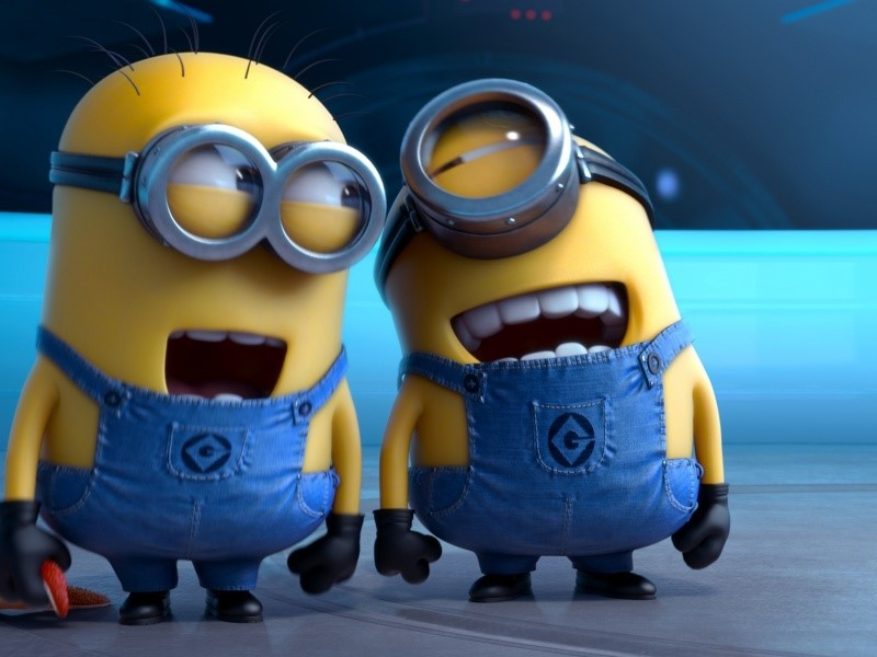 wallpaper para windows vista y windows 7 con la imagen de los minions 800x600