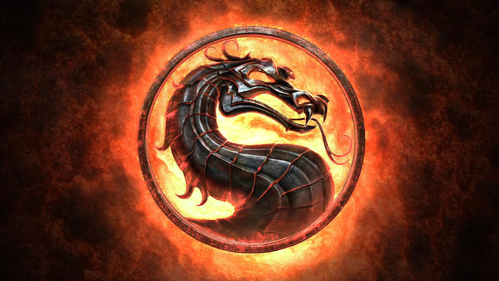 Download Mortal Kombat Logo HD Wallpaper 4079 Full Size 1920x1080