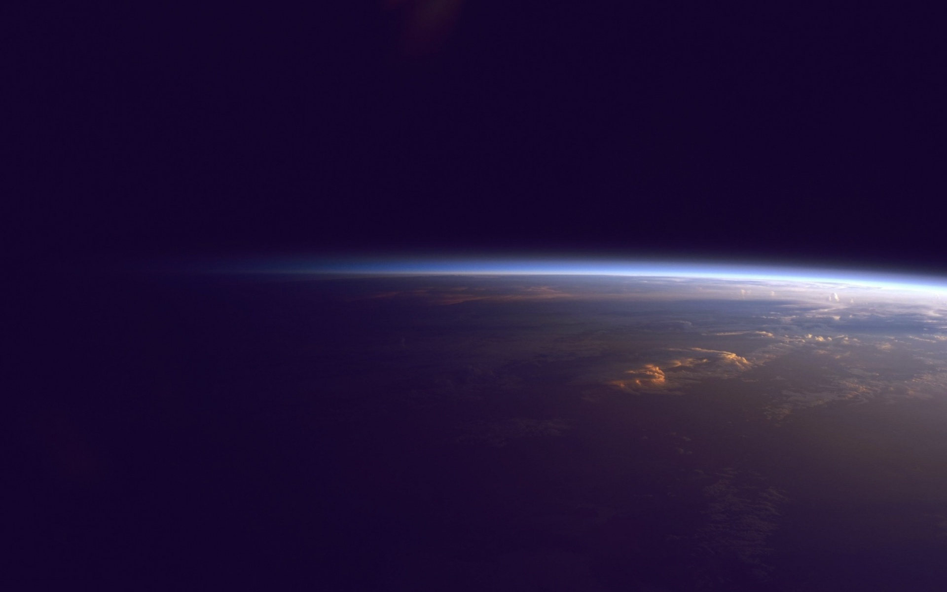 space, wallpapers, horizon, earth, outer, wallpaper, mac