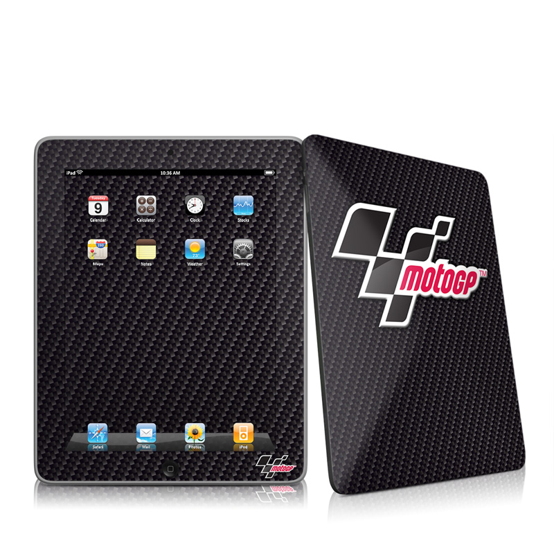 iPad iPad 2010 1st Gen MotoGP Carbon Logo Apple iPad 1st Gen Skin 800x800