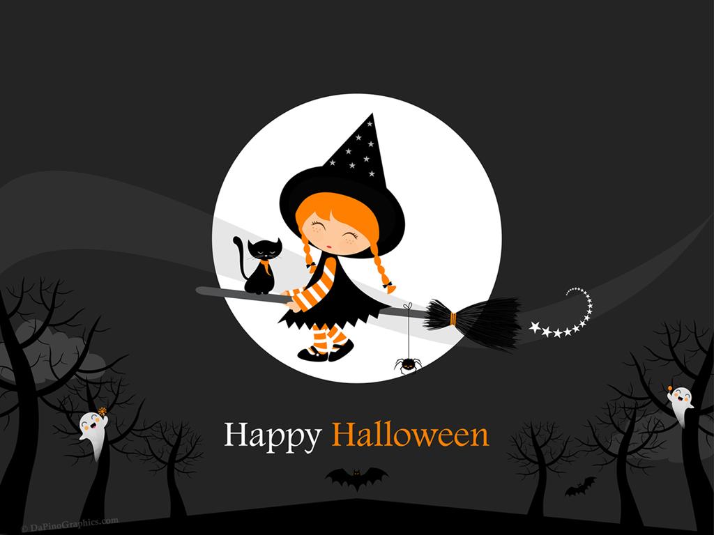 Cute Halloween Wallpaper for Desktop - WallpaperSafari