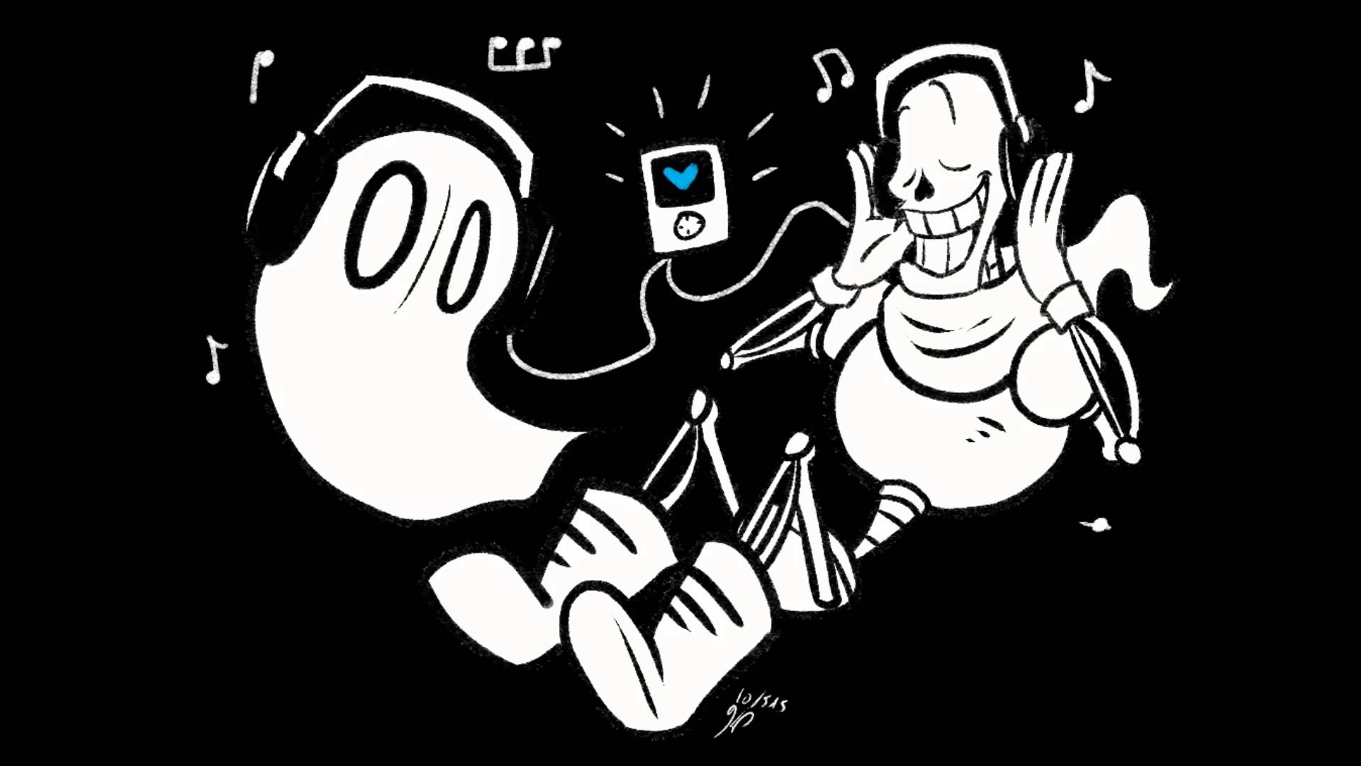 Undertale Ghost Fight Napstablook Dual Mix 1920x1080