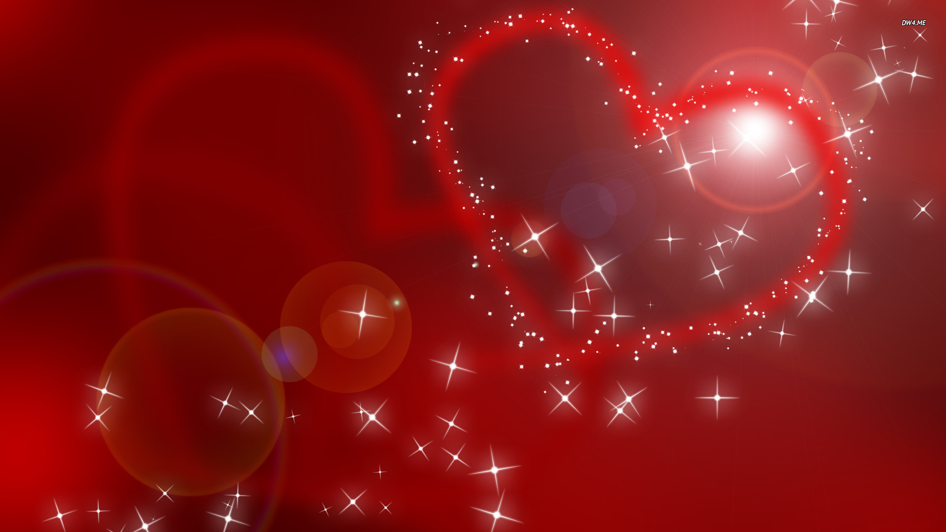 Sparkling hearts wallpaper   Holiday wallpapers   2116 1920x1080