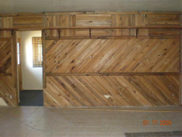 wood paneling herringbone pattern Phoenix home house real estate photo 640x480