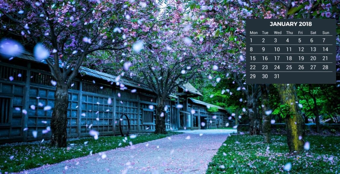 2018 Calendar HD Wallpapers Calendar 2018 1128x577