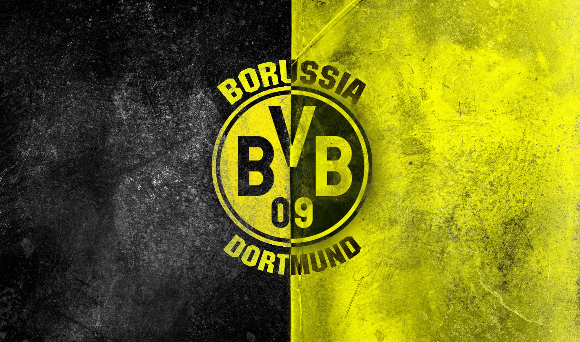 Borussia Dortmund Logo Wallpaper HD   Borussia Dortmund Logo 2000x1180