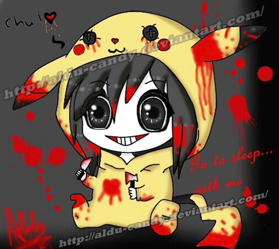 jeff the killer chibi by aldu Candy 900x803