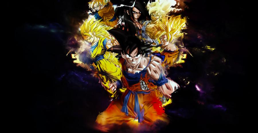 Dragon Ball [Son Goku] Wallpaper by OneBill 900x464