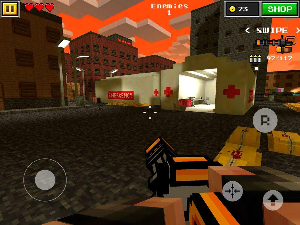 3D Pixel Gun Multiplayer 1024x768