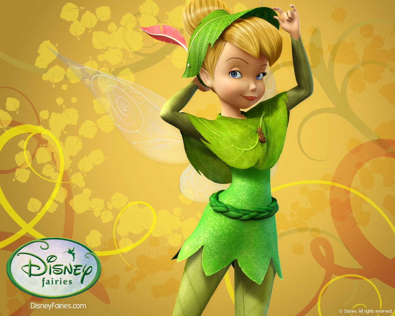 Wallpapers Photo Art Tinkerbell Wallpapers Tinkerbell Wallpaper 1280x1024