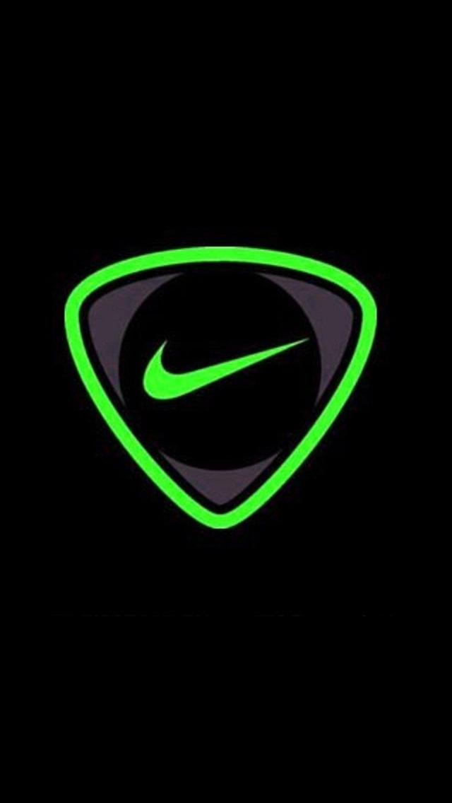 Green Nike iPhone 5 Wallpaper 640x1136 640x1136