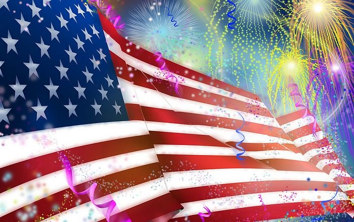 Wallpaper 1920x1200 illustrated USA Flag Picture   United States Flag 700x438
