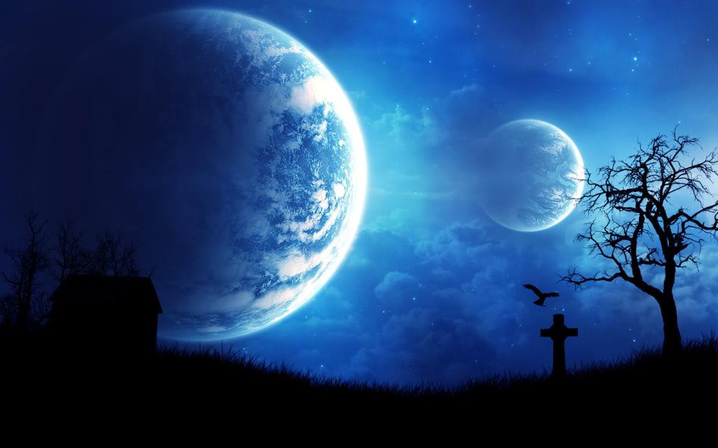 3D Beautiful Night Sky HD Wallpapers   Wallpapers 1024x640