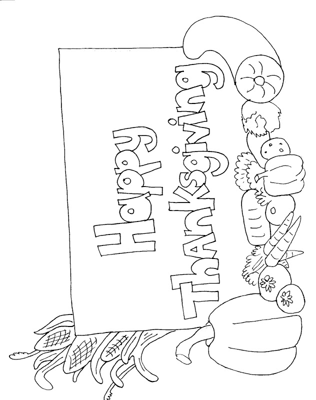 Thanksgiving Coloring Sheets Coloring Pages Gallery 632x800