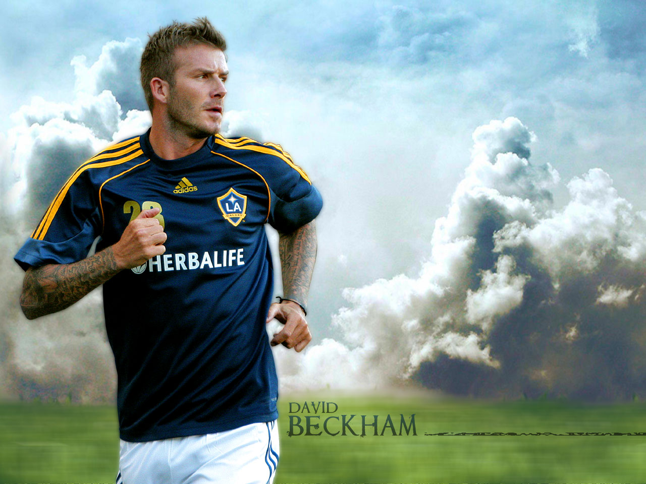ALL FOOTBALL STARS David Beckham Wallpapers 1280x960
