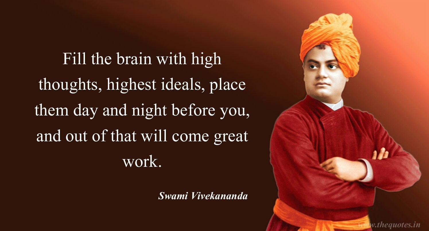 Swami Vivekananda Wallpaper   Thoughts For The Day By Swami 1495x806