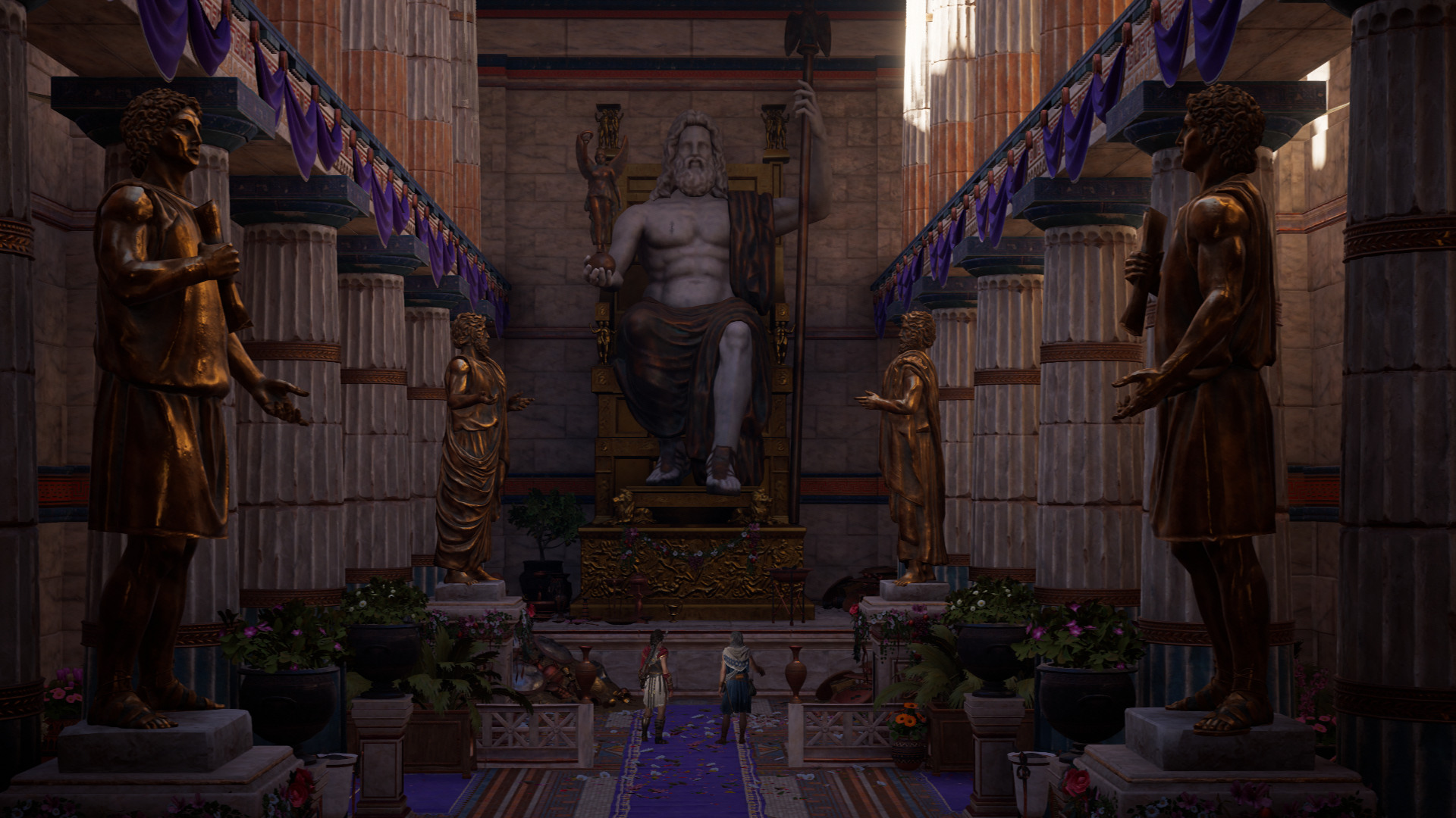 Statue of Zeus Olympia Assassins Creed Wiki FANDOM powered 1920x1080