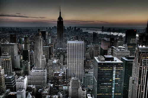 Gotham City Background New York City Skyline Wallpaper HDR 500x333