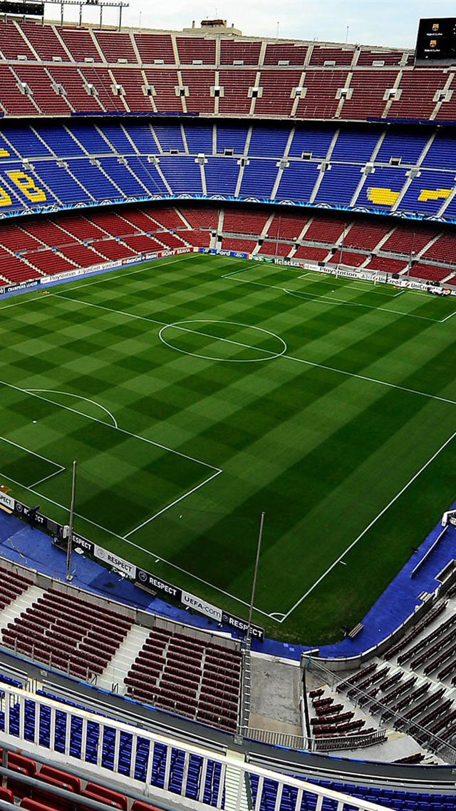 iPhone 5 wallpapers HD   Camp Nou Barcelona stadium Backgrounds 640x1136