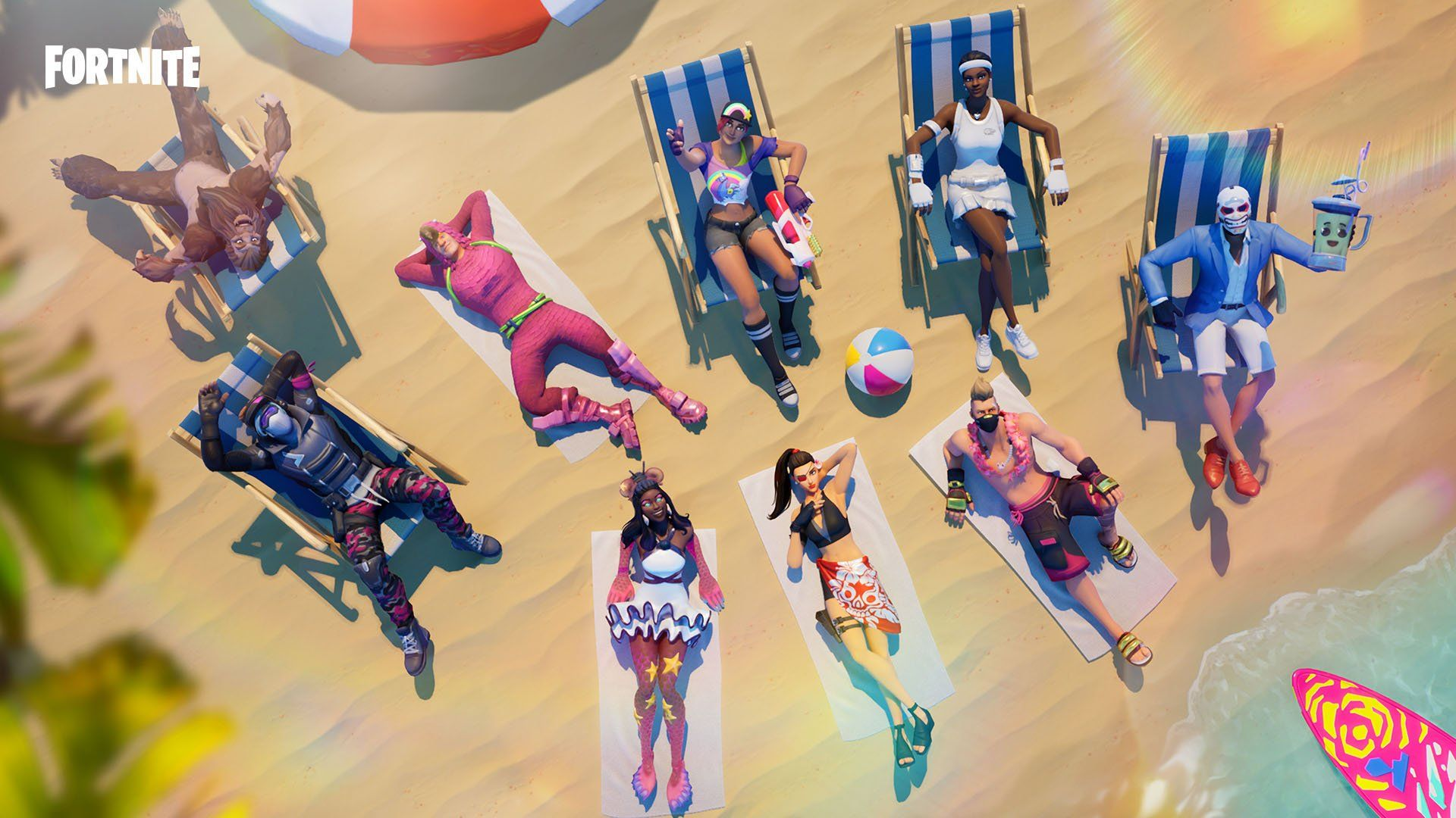 54 Fortnite Summer Pack Wallpapers On Wallpapersafari