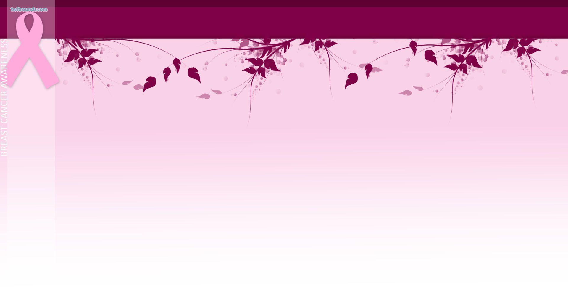 Breast Cancer Awareness Backgrounds 1920x1040