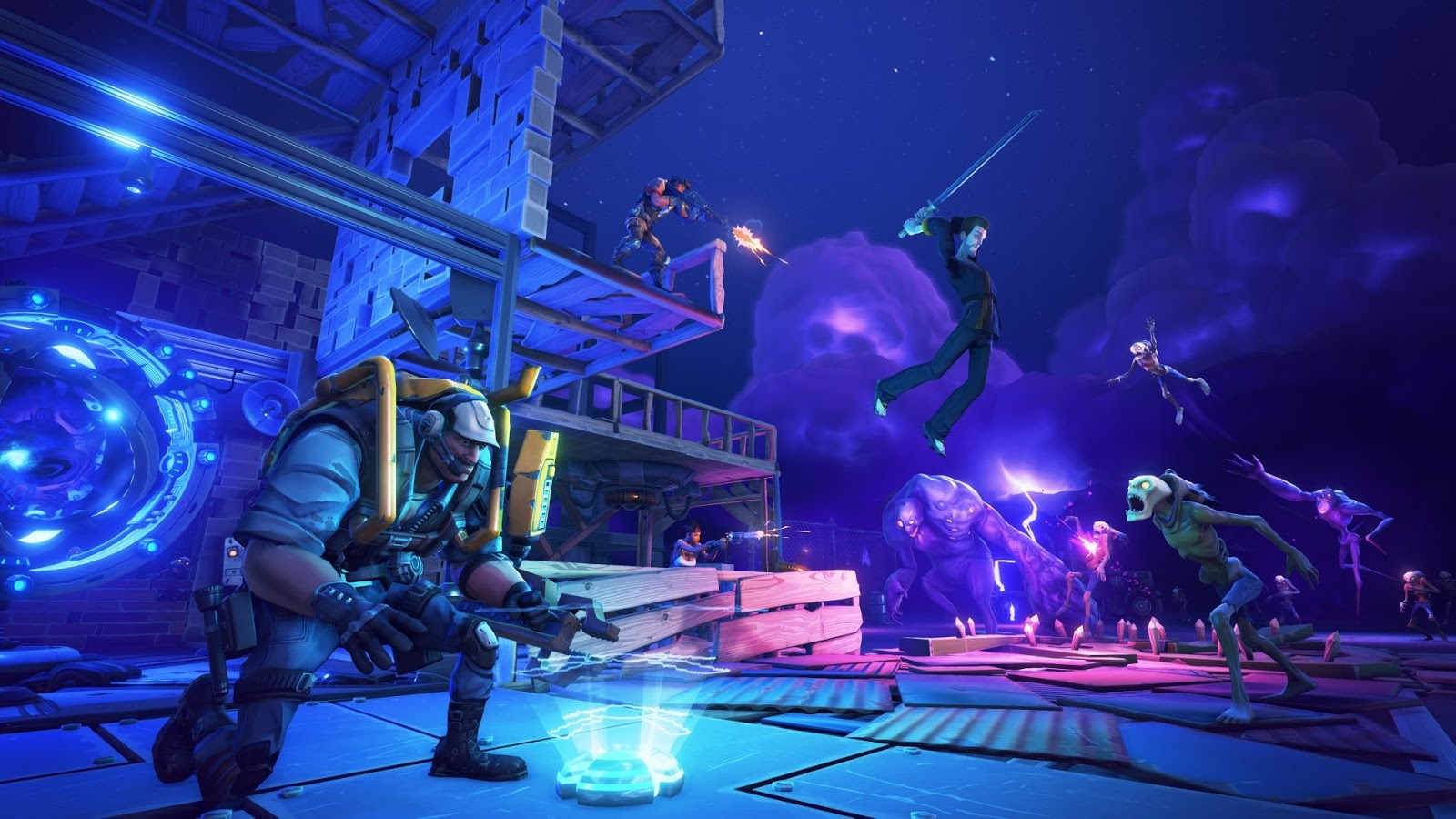 Download Fortnite HD Wallpapers Playstation Xbox and PC 1600x900