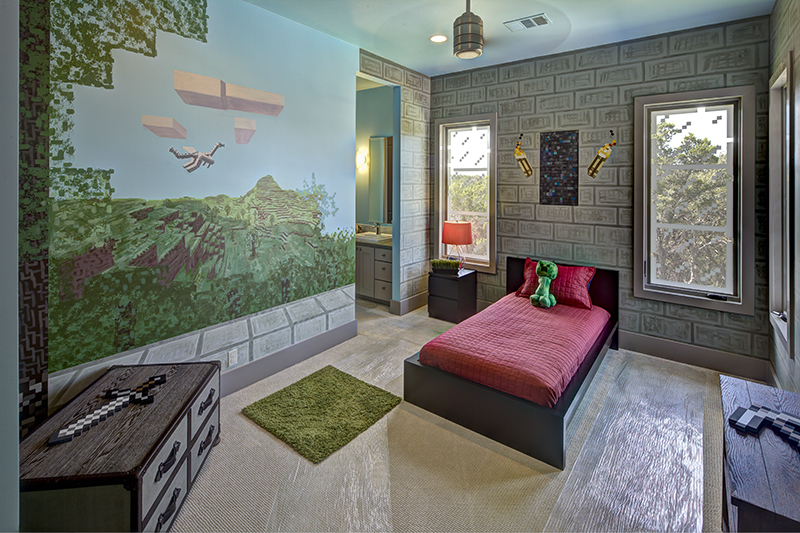 Minecraft Kids Bedroom Minecraft kids bedroom 800x533