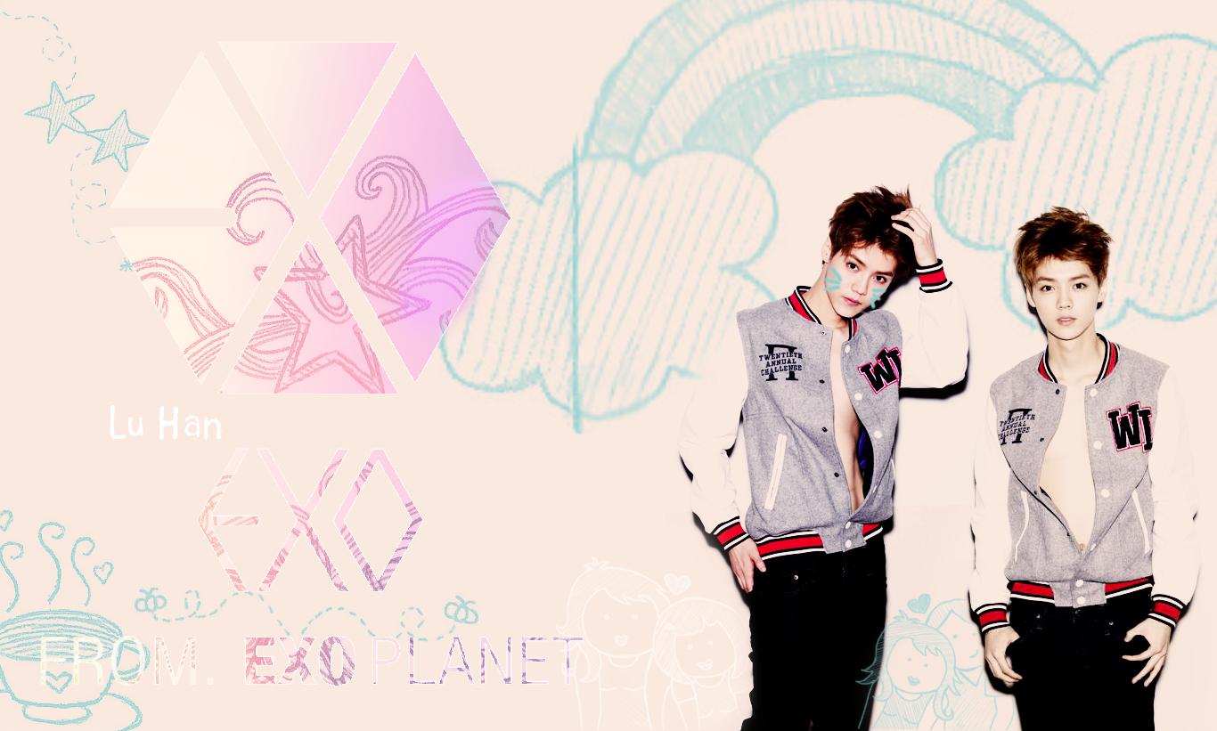 Luhan Exo Wallpaper For Android 9585 Wallpaper Wallpaper Screen 1366x821