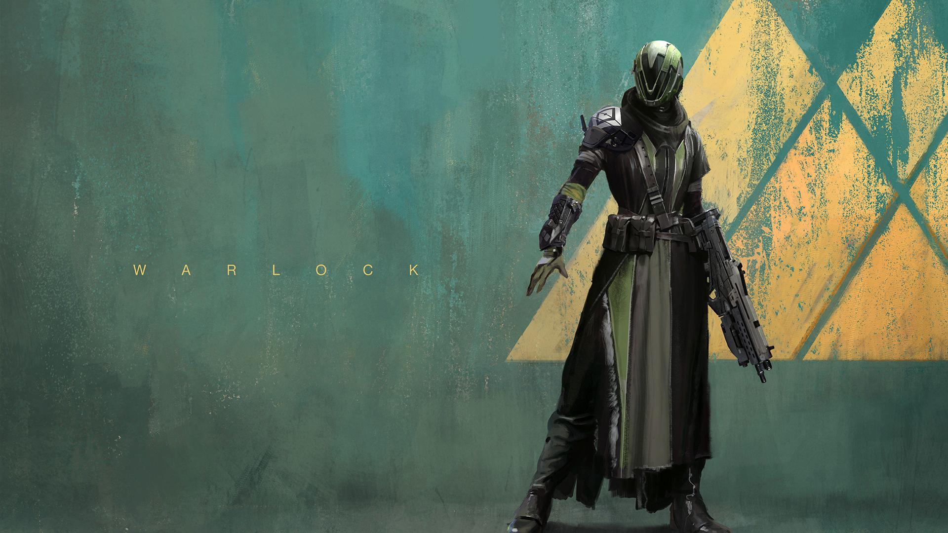 Warlock Destiny game Guardian class character HD 1920x1080 1080p and 1920x1080