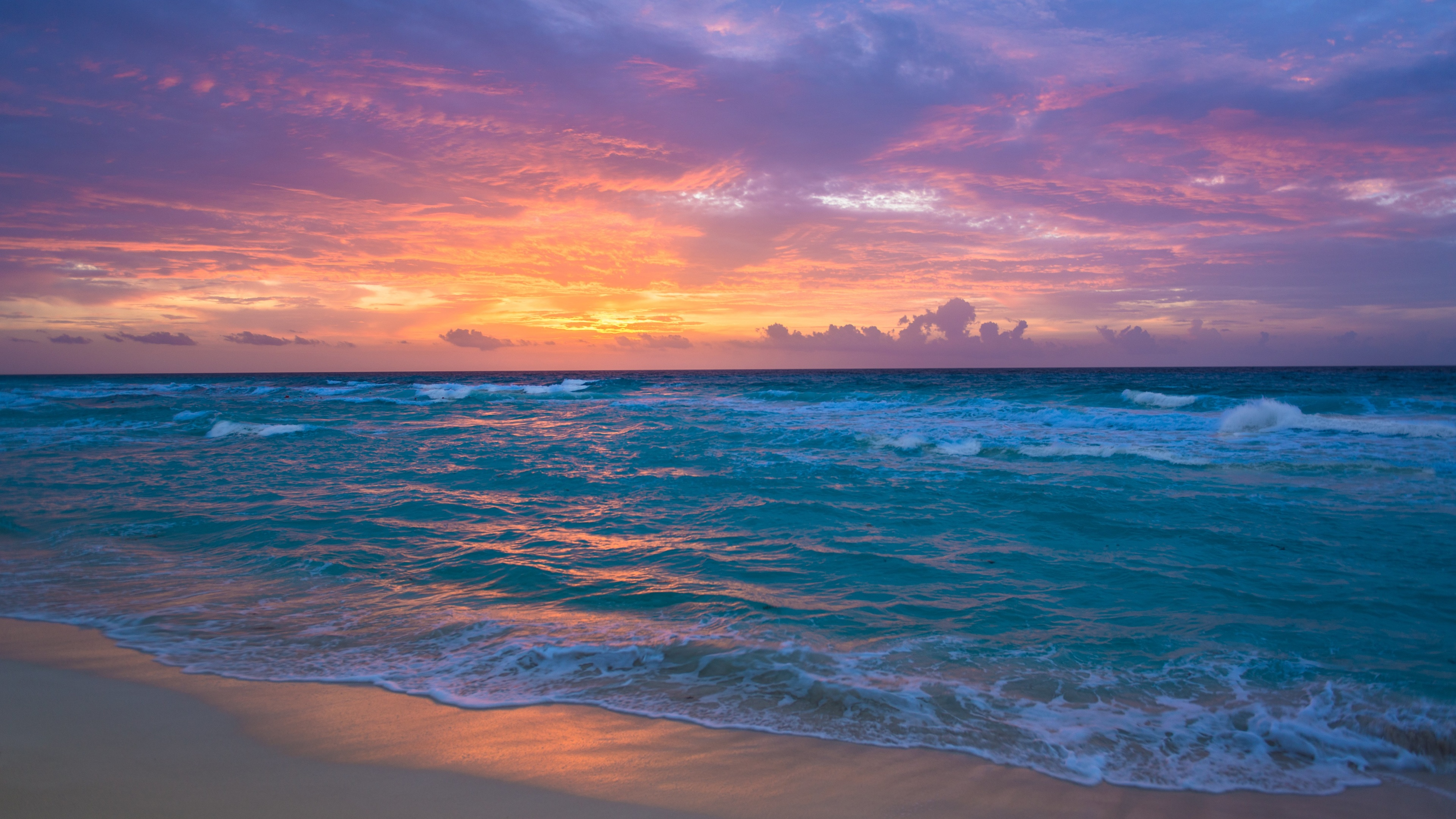 Waves ocean beach Ultra HD 4k Wallpaper   HD Wallpapers Ultra HD 3840x2160