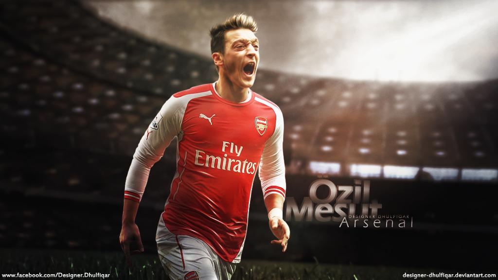 Mesut Ozil   Arsenal by Designer Dhulfiqar 1024x576