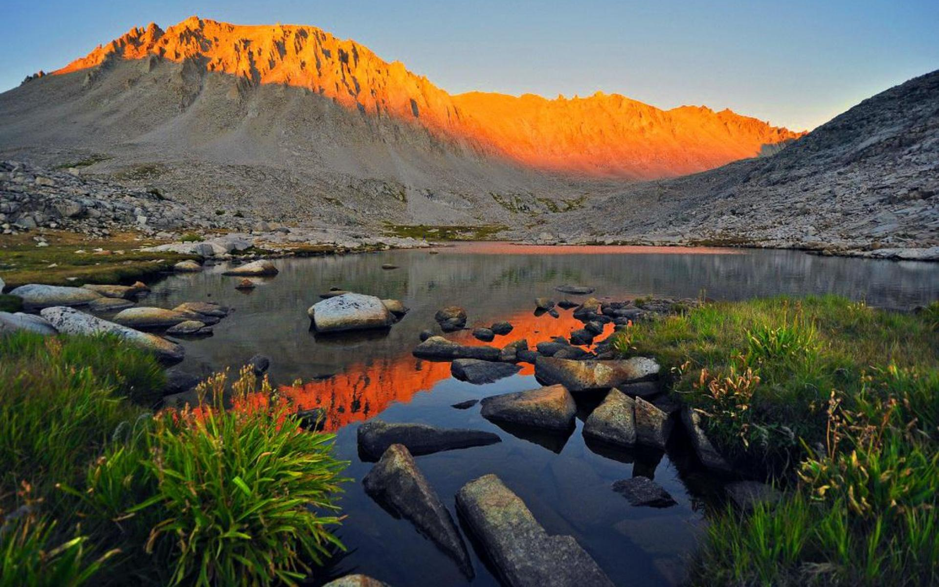 mt whitney alpenglow sequoia national park HQ WALLPAPER   165871 1920x1200