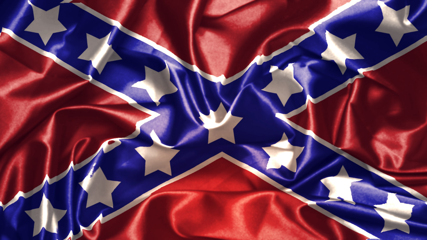 HD Rebel Flag Wallpapers 1366x768