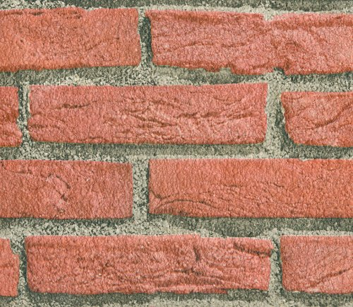 FAUX BRICK WALLPAPER TEXTURED RED Rayiw Blog 500x434