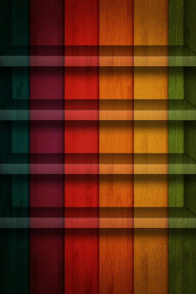 Bookshelf background SN14 iPhone wallpapers Background and Themes 640x960