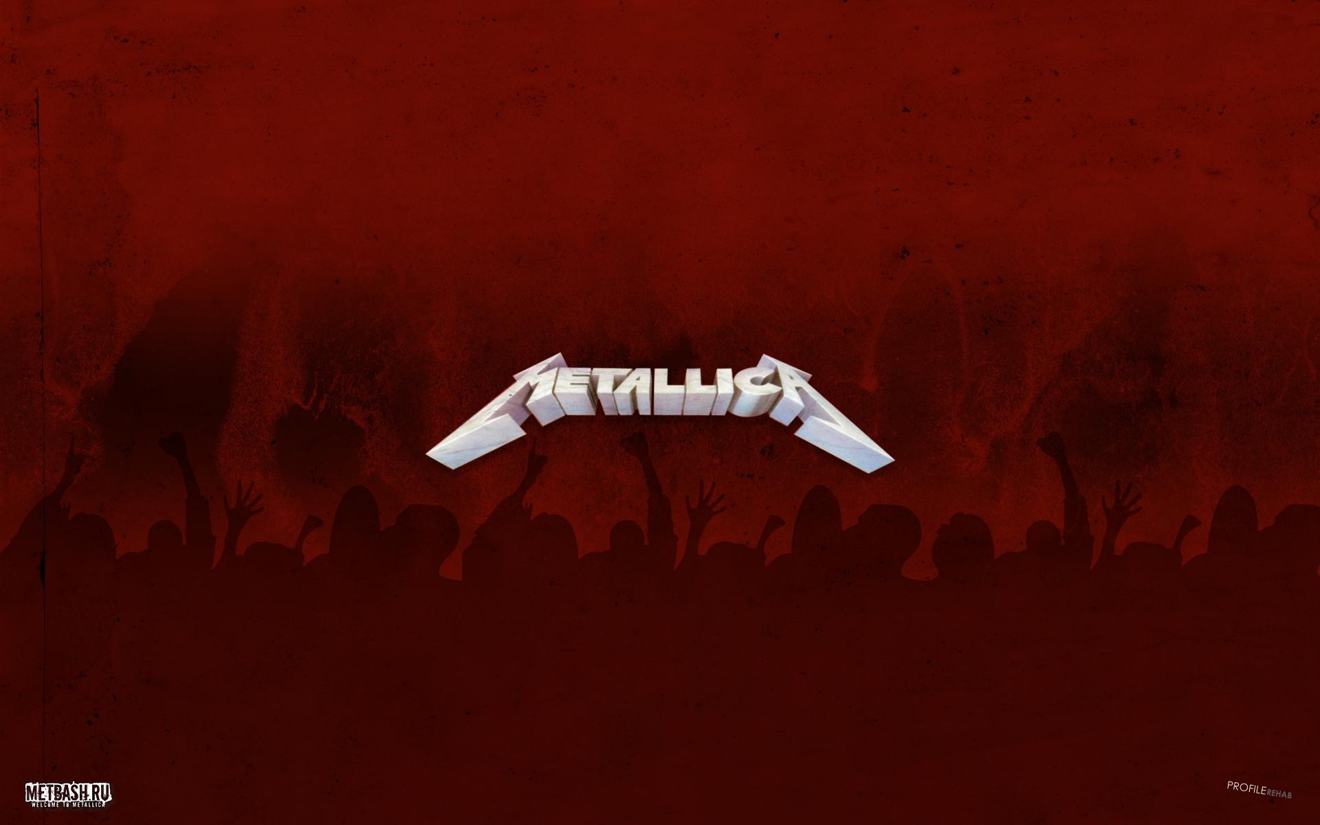 Metallica Logo wallpaper 1920x1200