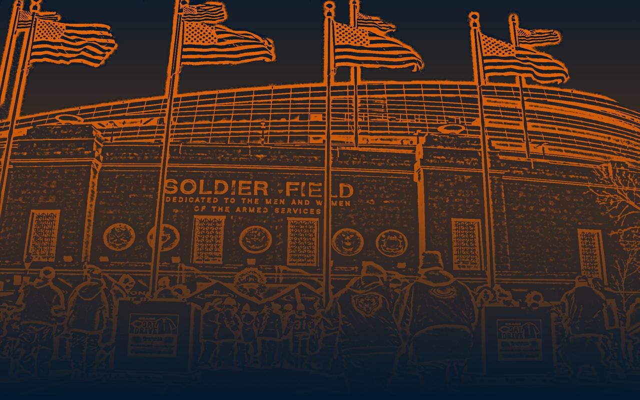 1280x800 Chicago Bears   Soldier Field Wallpaper Download 1280x800