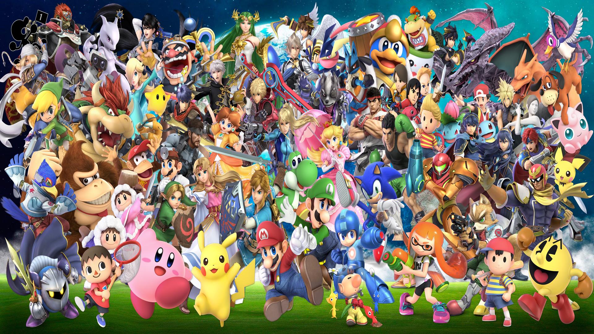 45 Smash Bros Ultimate Wallpapers On Wallpapersafari