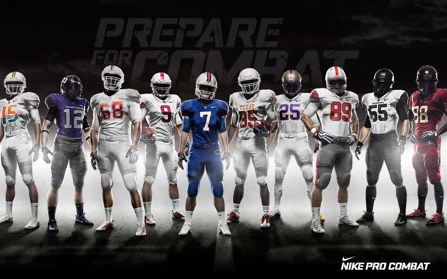 Pro Combat Team NFL Football Prepare For Combat 1440x900 WIDE NFL 1440x900
