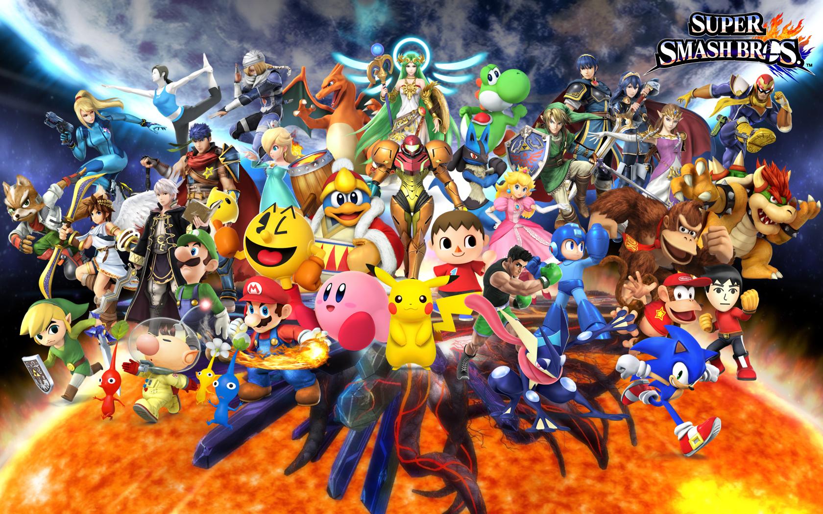 49 Smash Bros Wallpaper Reddit On Wallpapersafari